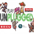 Play UnPlugged Brag Badge College